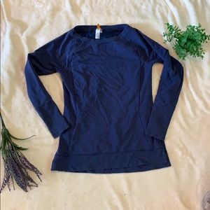 Dark blue Lucy pullover sweater
